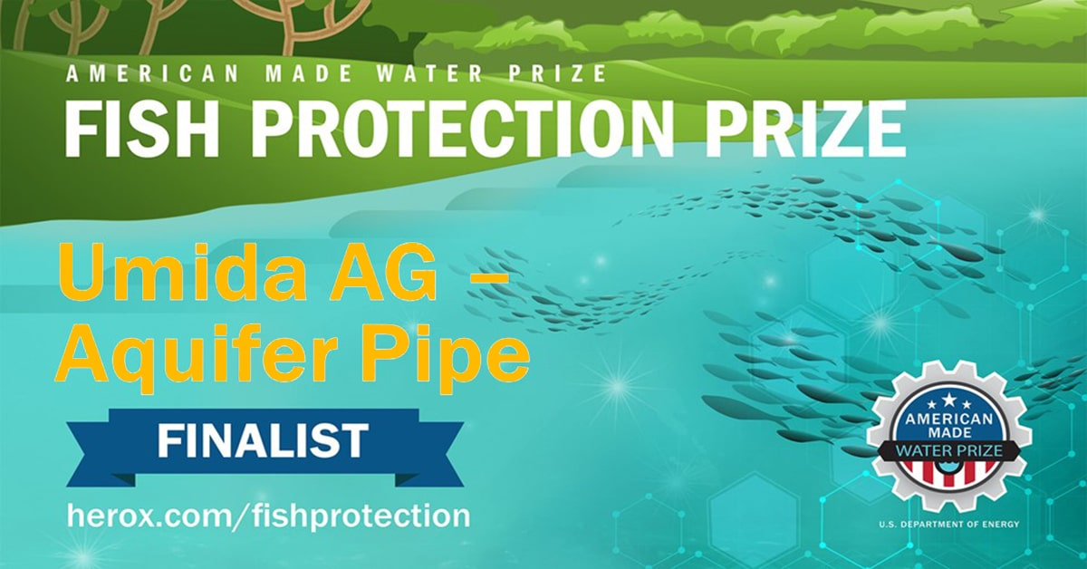 Finalists for the American-Made Challenges Fish Protection Prize Pitch Contest