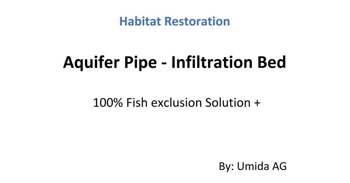 Fish Protection – Habitat Restoration