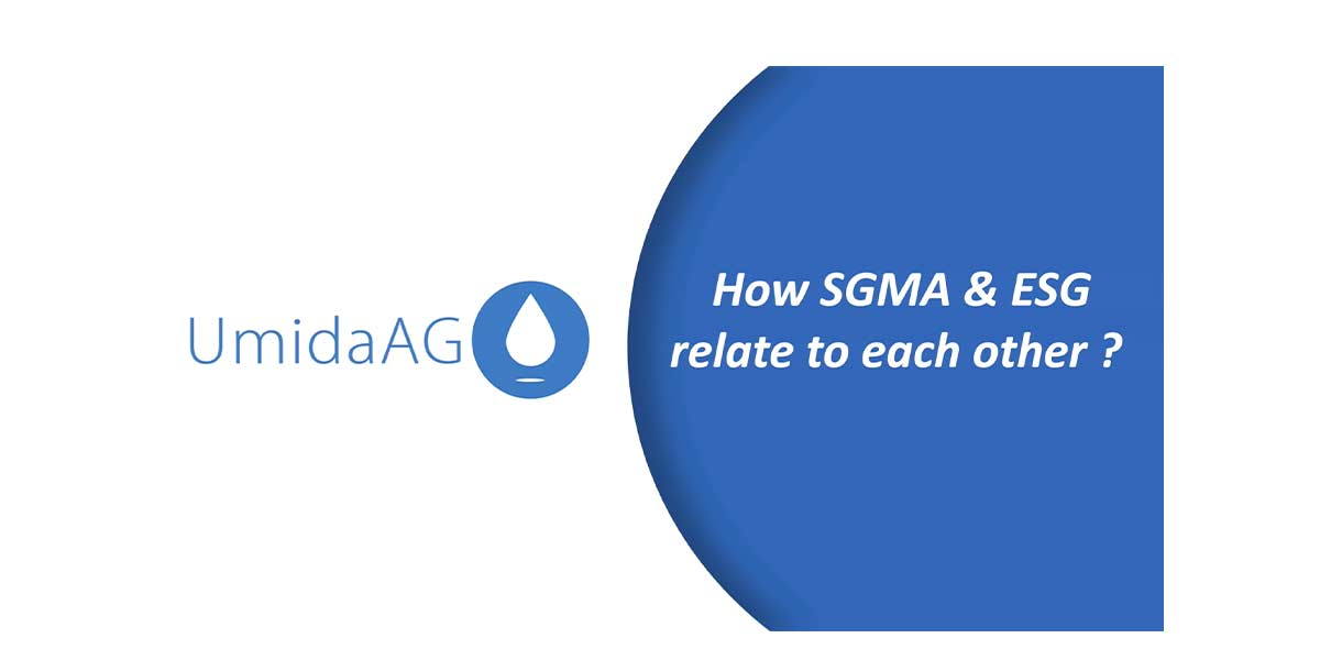 ESG and SGMA in Agriculture Supply chains for sustainable farming